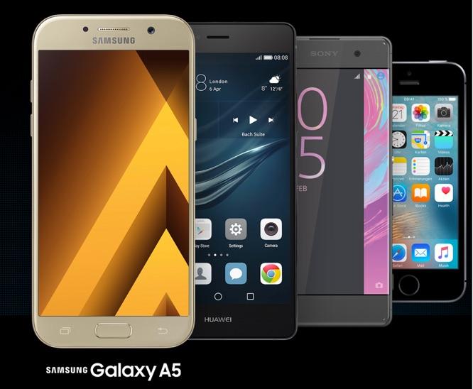 Smartphones mit Vertrag Congstar